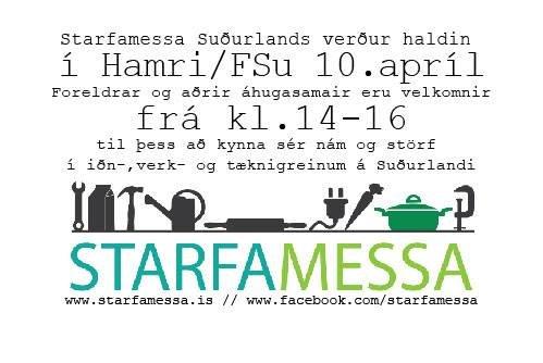 Starfamessa 2019 | Fjölbrautaskóli Suðurlands